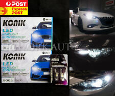 KONIK LED H11 HB3 Hi Lo Beam Parker White Headlight for 2013 + Mazda 3 BL BM BN