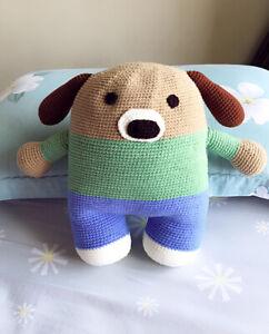 Crochet/knitted Stuffed toy/Doll/cushion Gift,handmade,nursery/home Decor