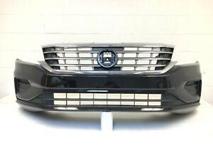 2020-2021 Volkswagen passat S SE SEL front bumper (pearl black) #15