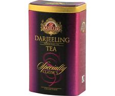 Basilur  Darjeeling Loose Leafy Tea in Tin Caddy 100g