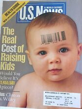US News Magazine Real Cost Of Raising Kids March 30, 1998 082117nonrh