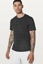 Lululemon In Mind Short Sleeve Crew Neck Men's T-Shirt Heathered Black L