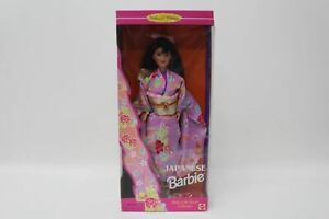 MATTEL Dolls Of The World Japanese Barbie 14163 Vintage Doll Collectors Edition