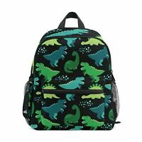 ISAOA Cute Childish Dniosaur Children's Backpack for Boys,Kid's Schoolbag for