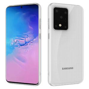 HSP Hülle für Samsung Galaxy S20 | Plus | Ultra Silikon Handy Schutz Cover Case