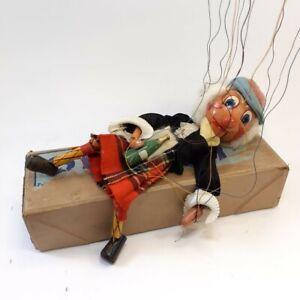 Vintage Pelham Puppets SM Macboozle Marionette Puppet Retro / Vintage Toy Boxed