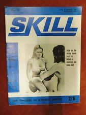 Skill Magazine Physical culture, girl Boxing etc No79 1970 E