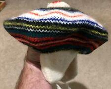 Vintage Children's Dress Stewart Wool MacAuslan of Glasgow Hat Beret w Ear Muffs