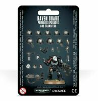 Raven Guard Primaris Upgrades and Transfers - Warhammer 40k - Brand New! 48-56C
