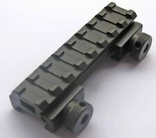 "See-Thru Flat-Top 1/2""Riser Base w/Picatinny/Weaver Rail 20mm Scope Mount 23"