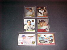1996 TOPPS MICKEY MANTLE LOT 6 DIFF. MINT
