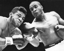 1962 SONNY LISTON vs FLOYD PATTERSON Glossy 8x10 Photo Heavyweight Title Fight!