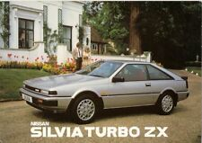 Nissan Silvia 1.8 Turbo ZX 1984-86 UK Market Sales Brochure