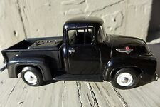 1956 FORD F-100 PICK UP TRUCK BLACK 1/38 DIE CAST SMART TOYS 1999 1:38