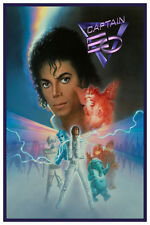 "DISNEY COLLECTOR'S POSTER 12"" X 18"" - EPCOT'S CAPTAIN EO W/ MICHAEL JACKSON"