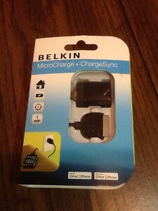 Belkin MicroCharge + ChargeSync Kit for iPod & iPhone