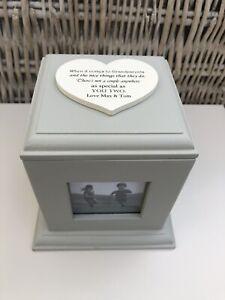 Personalised GRANDPARENTS Photo Frame Cube ANY NAMES Nana Grandad Nanny Present