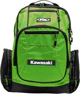 Factory Effex Premium Officially Licensed Kawasaki Backpack Green 23-89100