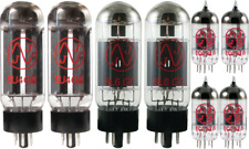 Tube Set - for Fender EC Twinolux JJ Electronics APEX Matched Power Tubes