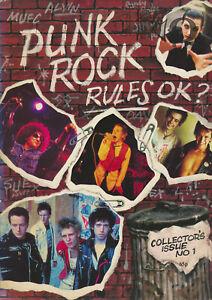 Punk Rock Rules OK? - Collectors Issue No 1 - 1977 [UK] - Book