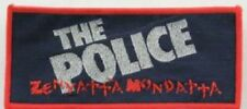 THE POLICE 'Zenyatta Mondatta' vintage woven patch
