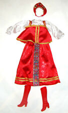 Barbie Fashion Imperial Russian Costumes/Outfits For Barbie Dolls hf11