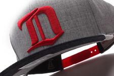 Detroit Red Wings Mitchell & Ness (VZ16Z FAS 7REDWI) Denim Dip Snapback Hat