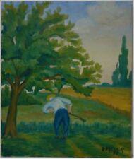 Peintures du XXe siècle et contemporaines signés en scène de genre, pour art déco