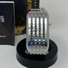 Tokyoflash Japan Barcode White LED Watch