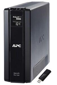 APC BR1500G 865W 1500VA Power Supply Computer Battery Backup