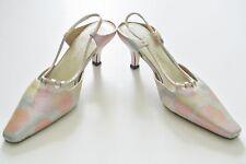 Pastel Mult-Color J. RENEE 2.5-in Slingback Shoes, Size 6 M