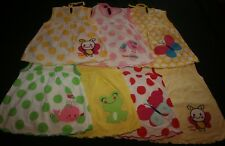 """Baby Girl's 12 - 18 Months 7 x NEW Cotton  """"ANIMAL"""" Themed Dresses Bundle"""