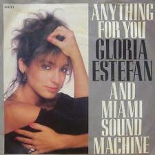 """Gloria Estefan & Miami Sound Machine(7"""" Vinyl P/S)Anything For You-UK-VG/VG"""
