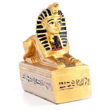 SPHINX EGYPTIEN SUR BASE DORE