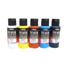 Vellejo AV Premium couleur peinture pinceau ou aérographe prêt choisir 2 bouteilles 60 ml