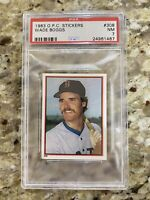 1983 O-Pee-Chee Wade Boggs Stickers PSA 7 NM RC HOF Not Topps Super Rare Low Pop