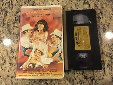 YO QUIERO CON LA TIA RARE CLAMSHELL VHS SPANISH MEXI 1987 HUMBERTO CABANAS HTF!