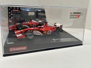 Carrera Evolution Ferrari F2002 F1 V10 No2 Barrichello 1/32 Slot Car