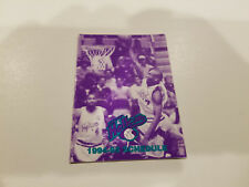 Hartford Hellcats 1994/95 CBA Basketball Pocket Schedule - Pyne-Davidson Co/WDRC