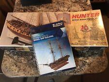 New ListingC. Mamoli 1:72 Hunter Wooden Ship Model Kit Cutter & Beginner Ship Building Book