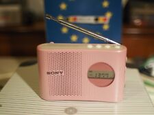 Sony Radio Icf m55 pink