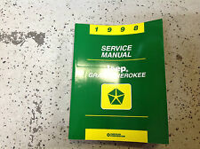 1998 JEEP GRAND CHEROKEE Service Shop Repair Manual BRAND NEW BOOK MOPAR OEM