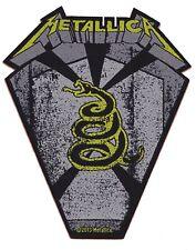 Metallica Serpent patche officiel écusson licence patch à coudre métal