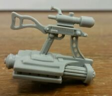 Vintage GI Joe 1989 Rock & N Roll Gatling Guns accessories RARE Nice Shape