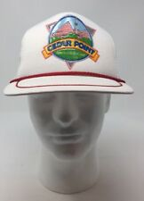 Vintage Cedar Point Sandusky Ohio  Snapback Truckers Hat New Without Tags