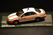 Opel Omega B Swiss Police 1994 Diecast Vehicle in scale 1/43