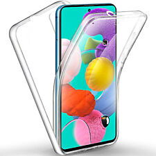 Cover for Samsung Galaxy a21s case front back 360 ° Silicone Slim TPU clear