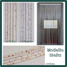 Tenda Moschiera a fili PVC, Modello Stella Asta Alluminio varie misure e colori.