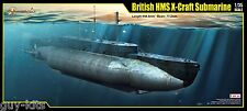 SOUS-MARIN BRITANNIQUE HMS X-CRAFT, WW2 - kit MERIT INTERNATIONAL 1/35 n° 63504