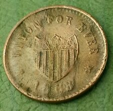 1863/8 Civil War Token Union for ever Double Die?